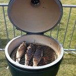 Branzino on a Big Green Egg