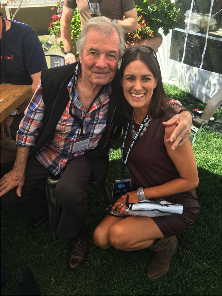 Jacques Pepin on our last Grand Tasting day.