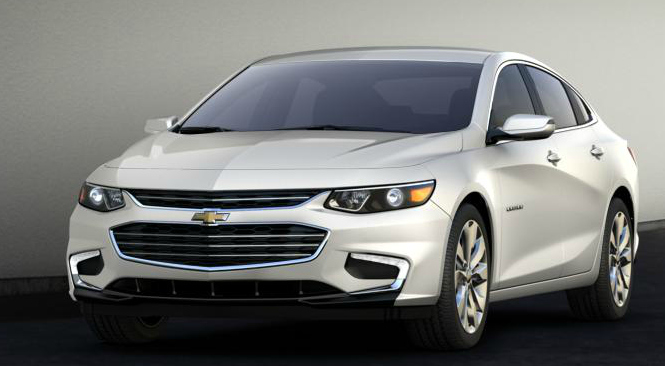 2016 Chevy Malibu Hybrid. Photo credit: chevrolet.com